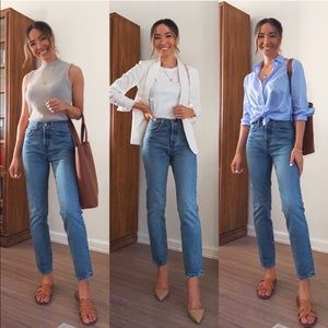 Levi's | Wedgie Fit High Rise Straight Jeans